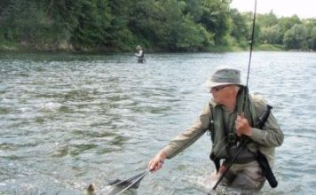 Fishing the San River in Poland - home to this years World Championships