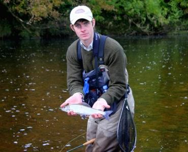 Tom Speak - one of a new generation of river anglers according to Jeremy Lucas