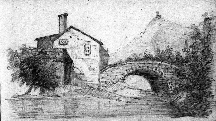 Sketch by Charles Farlow