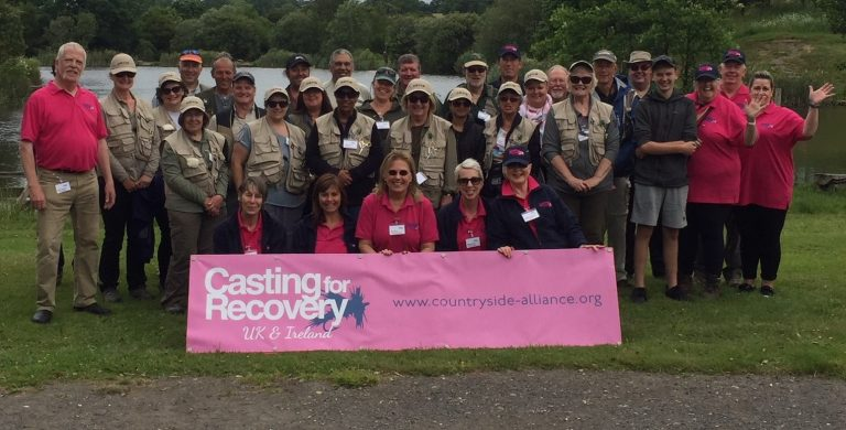Casting for recovery in Sussex
