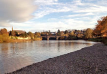 Junction Pool River Tweed