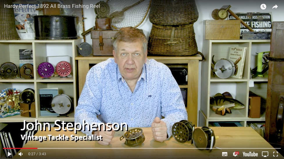 John Stephenson - Thomas Turner Fishing Antiques videos