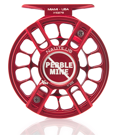 Nautilus limited edition Pebble Mine reel