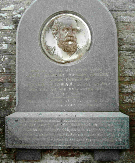 William Dunbar's grave