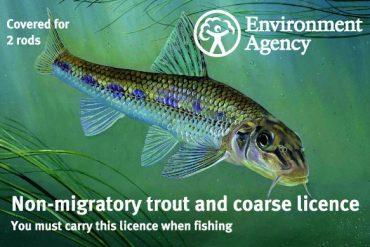 English Fishing licence